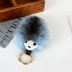 Colorful Mink Fur Hedgehog