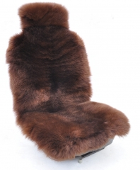 Big fur car seat cover plush autumn and winter warm cushion