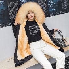 Best Selling Wholesale Parkas Jackets Custom Parkas For Women Fox Fur Parkas