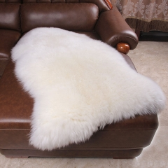 Extra Large washable soft Single Pelt fur rug sheepskin