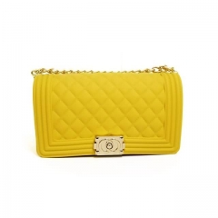 wholesale vendor Jelly Purse With Yellow Color