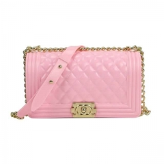 2020 New Fashion Baby Pink Purse For Ladies