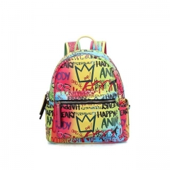 2020 New Fashion Neon Graffiti Bag