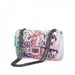 2020 New Women Fashion Vendor Graffiti Bag and purse