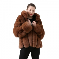 2021 Fashion Wholesale Dropshipping  Vertical Style Furry Coat Women