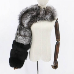 The Single Shoulder Raccoon Fur Sleeve